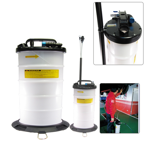 FIT TOOLS 9.5L Pneumatic Operation Oil or Fluid Extractor