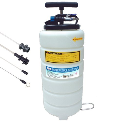 FIT TOOLS 15L Pneumatic and Manual Operation Oil or Fluid Extractor