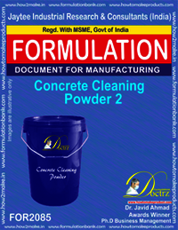 Concrete Cleaning Powder 2