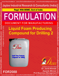 Liquid Foam Producing Compound for Drilling 2