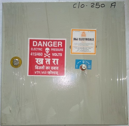 Changeover Switch 250 Amp