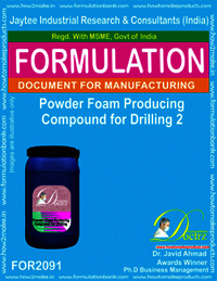 Powder Foam Producing Compound for Drilling 2