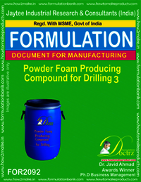 Powder Foam Producing Compound for Drilling 3