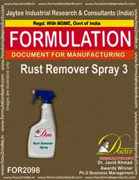 Rust Remover Spray 3