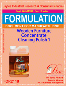 wood Finishing,Polish Formulations