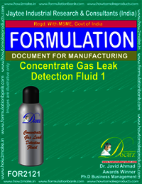 Concentrated Gas Leak Detention Fluid-1