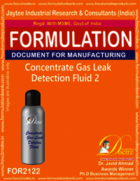 Concentrated Gas Leak Detention Fluid-2