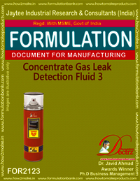 Concentrated Gas Leak Detention Fluid-3