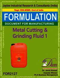 Metal Cutting and Griding Fluid chemicals Fomula -1