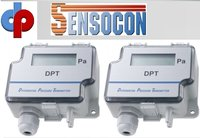 Sensocon USA Differential Pressure Transmitter Series DPT1-R8 - Range  -6.4 - 6.4 mm WC