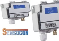 Sensocon USA Differential Pressure Transmitter Series DPT1-R8 - Range  -12.7 - 12.7 mmWC