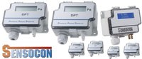 Sensocon USA Differential Pressure Transmitter Series DPT1-R8 - Range  0 - 2.5 mmWC