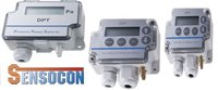 Sensocon USA Differential Pressure Transmitter Series DPT1-R8 - Range  0 - 6.4 mmWC