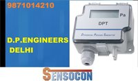 Sensocon USA Differential Pressure Transmitter Series DPT10-R8  - Range  -0.5 - 0.5  inWC