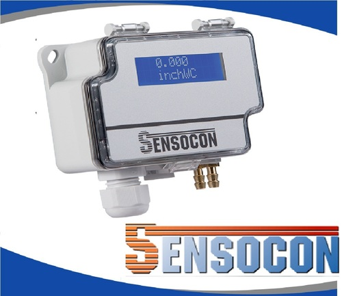 Sensocon USA Differential Pressure Transmitter Series DPT10-R8 - Range 0 - 5.0 inWC