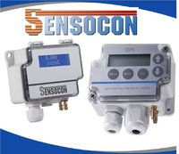 Sensocon USA Differential Pressure Transmitter Series DPT10-R8 - Range -125 - 125 Pa