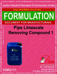 Pipe Lime Scale Removing Compound 1
