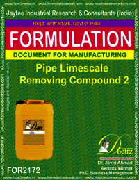 Pipe Lime Scale Removing Compound 2