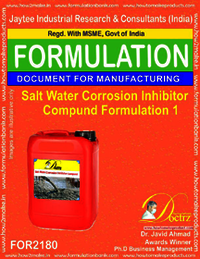 Salt water corrosion inhibitor Compound formula 1