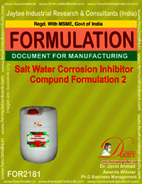 Salt water corrosion inhibitor Compound formula 2