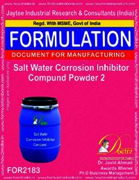 Salt water corrosion inhibitor Compound Powder 2