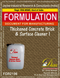 Thickened Brick and surface cleaning formula 1