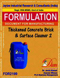 Thickened Brick and surface cleaning formula 2