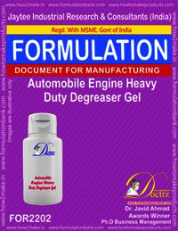 Automobile Engine Heavy Duty De-Greaser Gel