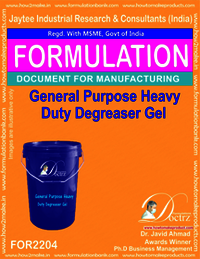 General Purpose heavyduty De-Greaser Gel
