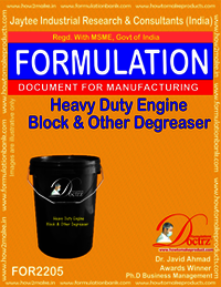 Heavyduty Engine Block and Other De-Greaser Gel