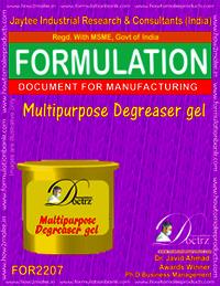 Multipurpose De-Greaser Gel 1