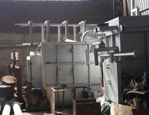 Aluminium Cube Casting Machine