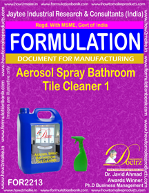 Bathroom Cleaning Formulations
