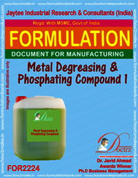 Metal Degreasing and Phosphating compound1