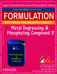 Metal Degreasing and Phosphating compound 3