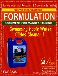 Swimming Pool Water slides Cleaner Compound 1