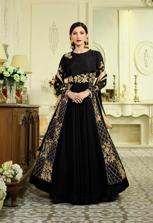 arihant rozelle vol 5 gauhar khan suits catalog