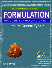 Lithium Grease Manufacturing Formula-2