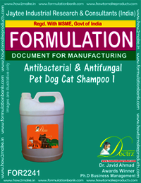 Antibacterial and anti-fungal Pet Dog Cat Shampoo 1