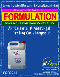 Antibacterial and anti-fungal Pet Dog Cat Shampoo 2