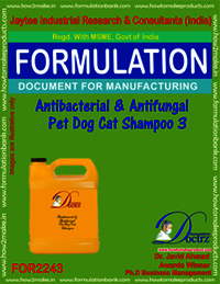 Antibacterial and anti-fungal Pet Dog Cat Shampoo 3