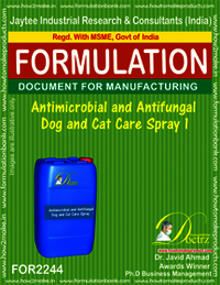 Antimicrobial and anti-fungal Pet Dog Cat Spray 1