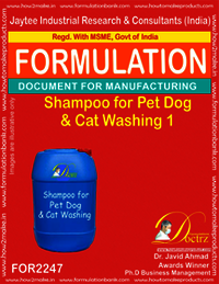 Shampoo Formula for Pet Dog & Cat washing 1