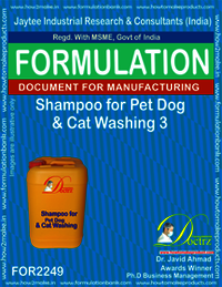 Shampoo Formula for Pet Dog & Cat washing 3