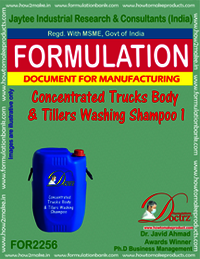 Concentrated truck Body & tillers washing shampoo 1