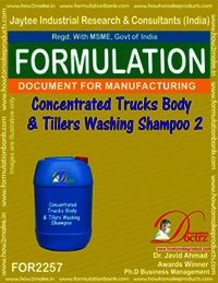 Concentrated truck Body & tillers washing shampoo 2