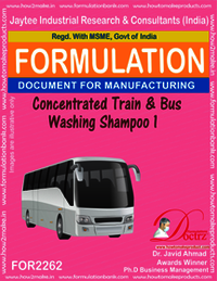 Concentrated Train and Bus Washing Shampoo-1