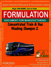 Concentrated Train and Bus Washing Shampoo-2