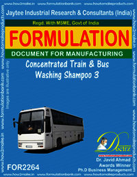 Concentrated Train and Bus Washing Shampoo-3
