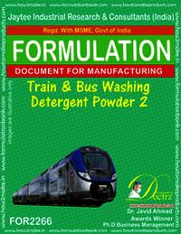 Train and Bus Washing detergent Powder-2